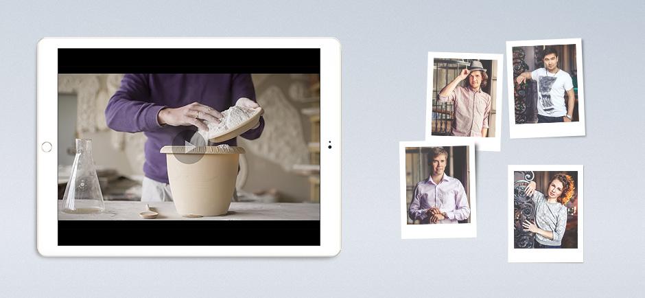 Продающее видео и фотосессия гипсовый декор